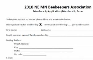 Membership Fee - New Member
