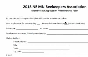 2020 Membership Fee - Annual Renewal